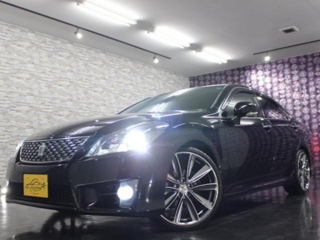 トヨタ アスリートi-Four 4WD 4灯HID 外20AW