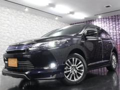 ハリアーハイブリッドプレミアム モデリスタエアロ BIG−XナビTV 4WD