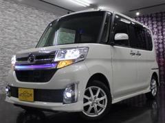 タントカスタムX トップEDSAII フルセグナビTV 4WD