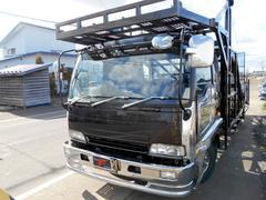 フォワードキャリアカー 3台積 積載車 中型免許OK HID