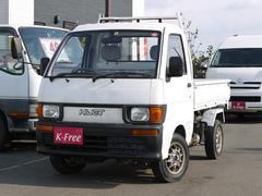 ハイゼットトラックダンプ 4WD エアコン 社外アルミ 荷台塗装済み