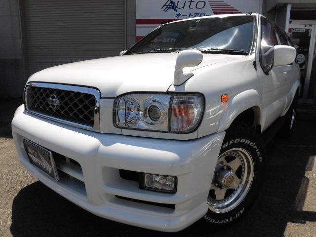 日産 ワイドR3m-X エアロRTDパッケージ 4WD ディーゼル
