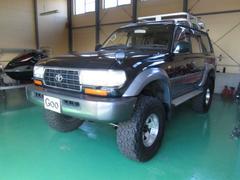 ランドクルーザー80VXリミテッド 4WD キャンピング登録