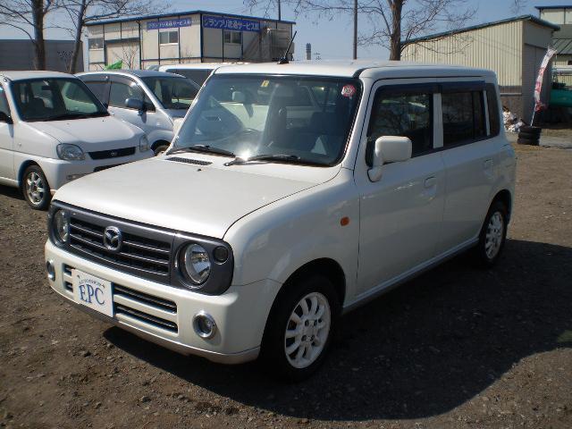 マツダ スピアーノ XF AT 4WD ベンチシート プライバシー...