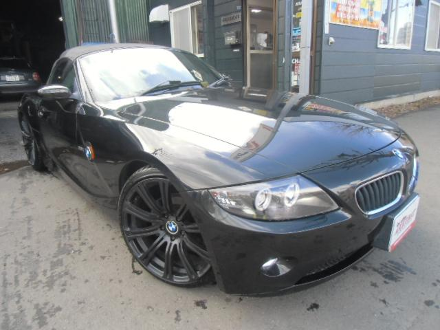 BMW Z4 2.5i HID4灯 社外ナビ ETC 夏タイヤ19...