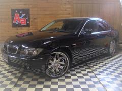 BMW740i 後期22AW 黒革ヒータークーラー SR