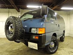 デリカスターワゴンBTオリジナルスタイル ディーゼル 4WD VAN LOOK