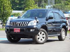 ランドクルーザープラドTX 4WD 整備記録簿あり