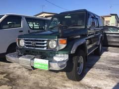 ランドクルーザー70ZX ディーゼル 4WD リヤヒーター ウインチ付