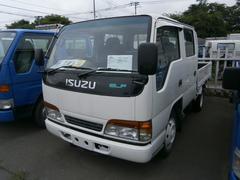 エルフトラック1.25t Wキャブ 4WD