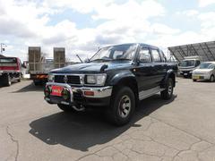 ハイラックスピックアップダブルキャブ SSR−X ディーゼル 4WD