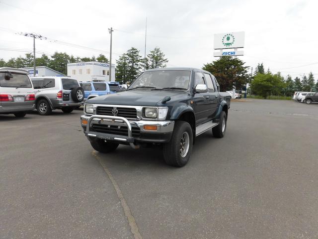 トヨタ ダブルキャブ SSR-X ディーゼル 4WD