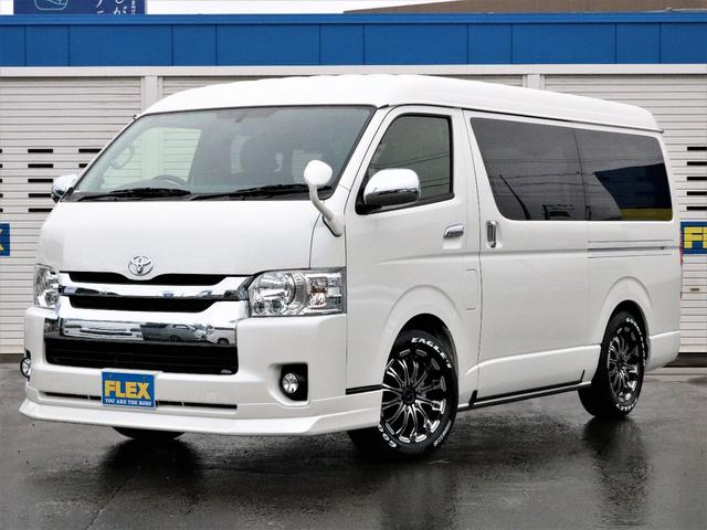 トヨタ FLEXオリジナル内装架装VER3.3新品AW新品スポイラー