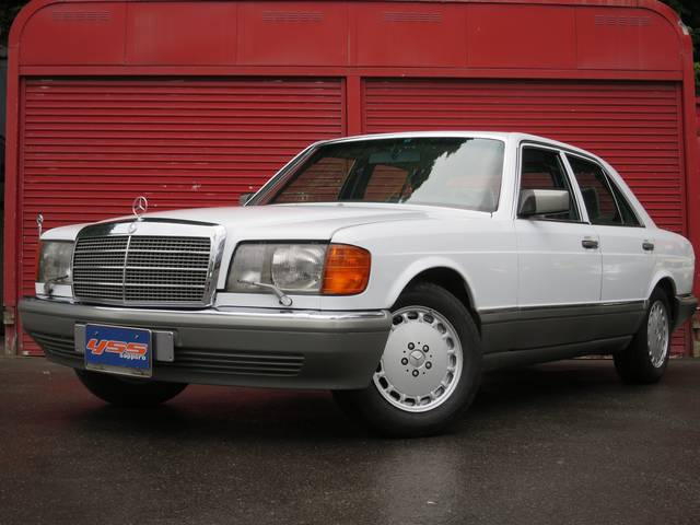 Mercedes benz s class 300se 1988 white 110 000 km for 1988 mercedes benz 300se