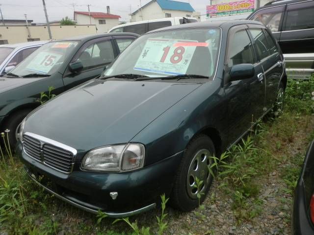 Photo of TOYOTA STARLET CALAT LIMITED / used TOYOTA