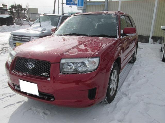 Subaru Forester Cross Sports 20i 2005 Red 64000 Km Details