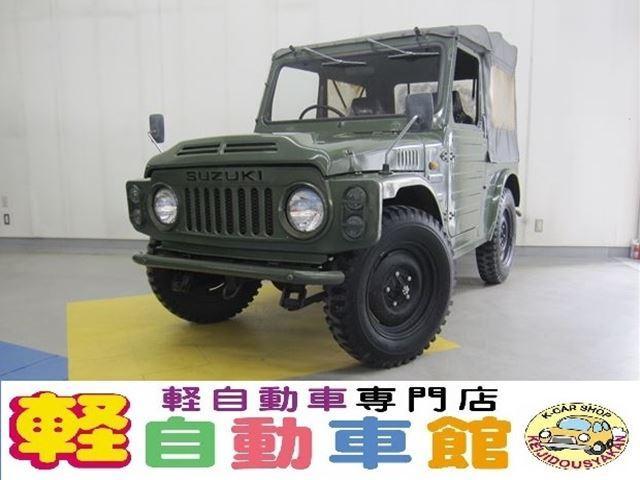 スズキ 幌タイプ マニュアル車 4WD
