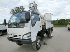 エルフトラック10.5m高所作業車4WD