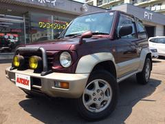 パジェロジュニアZR−II 4WD 背面タイヤ 純正アルミホイール