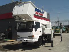 アトラストラック14.5m高所作業車 サブエンジン・ウィンチ付