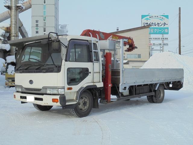 4トン ワイドロング 3段セルフクレーンラジコン付 U030