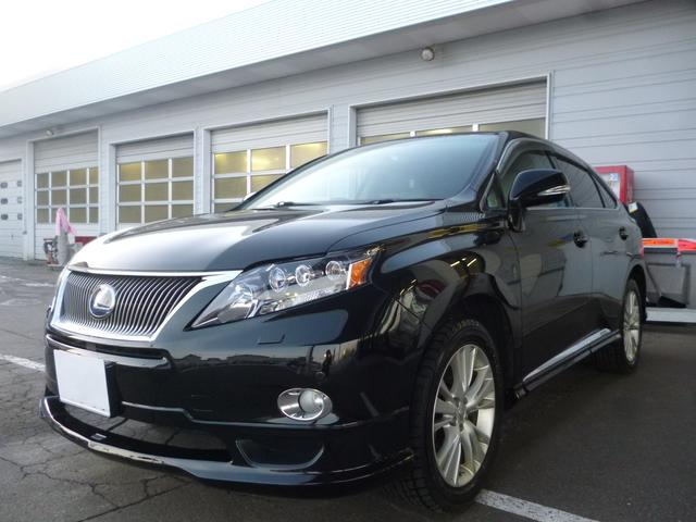 lexus rx rx450h version l 2009 black m 189 000 km details japanese used cars goo net. Black Bedroom Furniture Sets. Home Design Ideas
