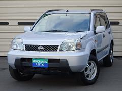 エクストレイルS 4WD ワンオーナー 社外CD 社外AW15インチ