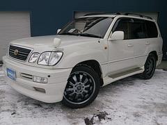 トヨタ ランドクルーザー100 シグナス 社外22AW 1ナンバー登録 新品シートカバー 4.7L
