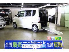 N BOX+福祉車両 G スロープ 4WD 4名乗車 電動ウィンチ