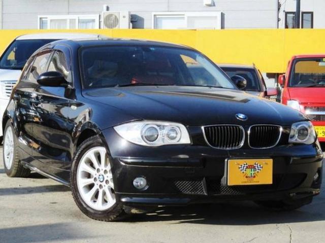 BMW 116i 赤レザーシート 内装張替済