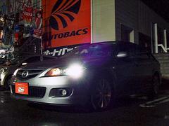 アテンザスポーツワゴン23S 4WD HID ナビ・バックカメラ ETC