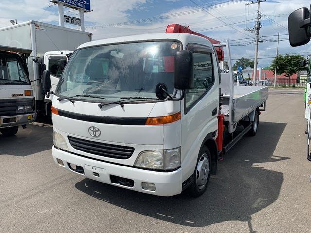 トヨタ 2t ワイド ロング平ボデー 4.94mボデー