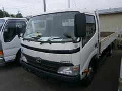 ダイナトラック2t ワイド 平ボデー オートマチック 4.35mボデー