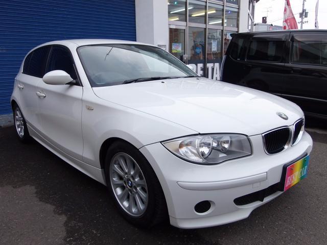 BMW 1シリーズ 116i 6ヶ月走行無制限保証付 (車検整備付)