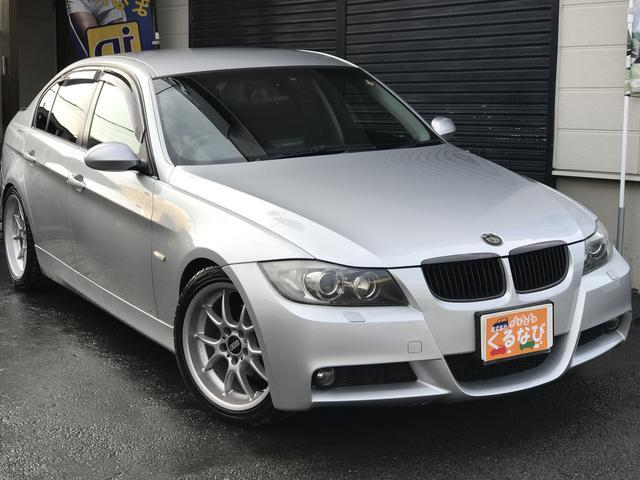 BMW 3シリーズ 320i Mスポ仕様18インチBBS 車高調 ...