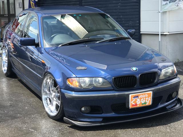 BMW 3シリーズ 318iMスポナビTV19インチエアロマフラー...
