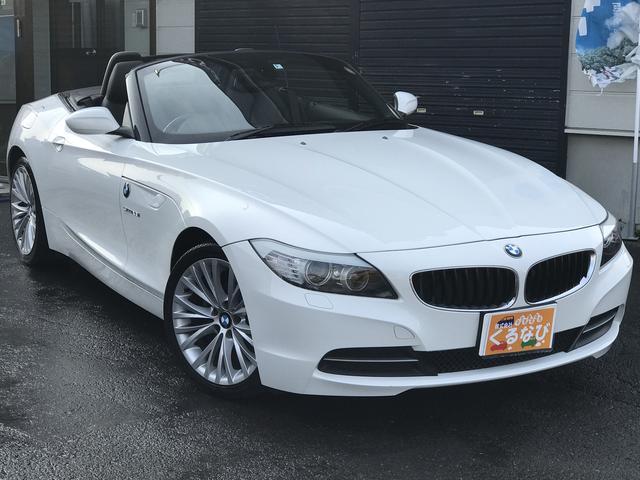 BMW Z4 sDrive23iハイライン18インチ黒革純正ナビ席...