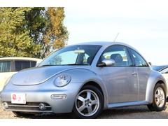 VW ニュービートルベースグレードFF・キーレス・純正CD・夏冬タイヤ付