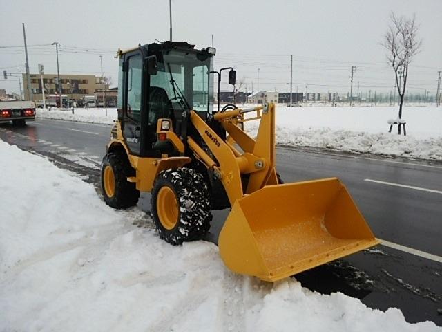 コマツ WA40‐6 ホイールローダー 除雪仕様車0.6