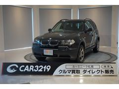 BMW X3 2.5iHID ETC CD キーレスキー
