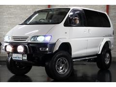 デリカスペースギアエクシードツインサンルーフ 4WD リフトUP 外マフラー