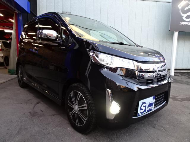 三菱 eKカスタム T 4WD タ...