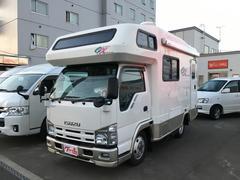 エルフトラックキャンピング ヨコハマモーターセールス OX 4WD 9人乗