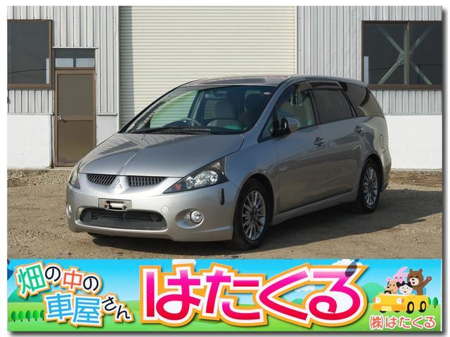 三菱 グランディス スポーツ−X 4WD 純正ナビ (車検整備付)