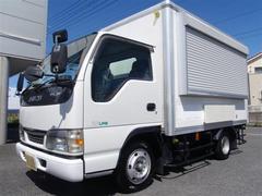 エルフトラック移動販売キッチンカー NOXPM適合