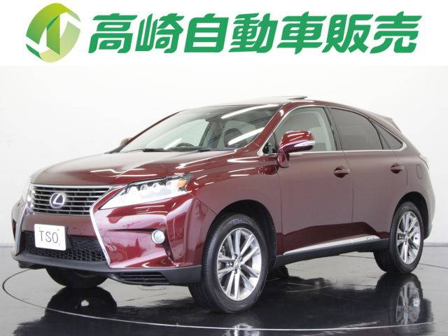 lexus rx rx450h version l 2012 red 23 000 km details japanese used cars goo net exchange. Black Bedroom Furniture Sets. Home Design Ideas