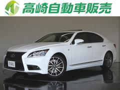 LSLS460 Fスポーツ 黒革 SR Mレビ プリクラ