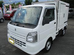 キャリイトラック冷蔵冷凍車 −5℃〜+20℃サーモキング製 メモリナビ