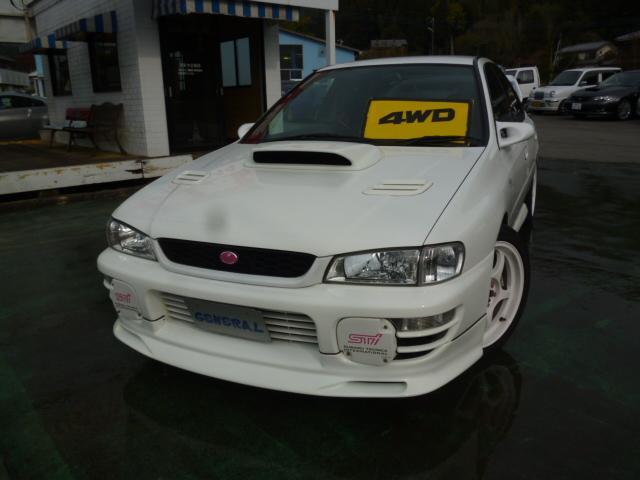 スバル WRX STiバージョンIV 4WD ターボ 柿本マフラー