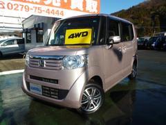 N BOXG・Lパッケージ 4WD ナビTV 片側電動スライドドア
